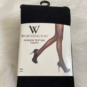 NWT Worthington Fashion Tights Sz S/M